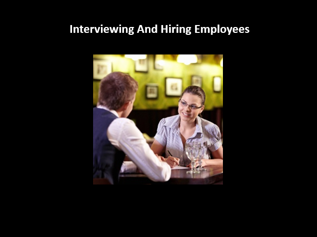 How To Hire Your Restaurants Startup S First Staff Start